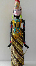Holzpuppe Wayang Golek Stabpuppe handgefertigt aus Bali NMSG28X