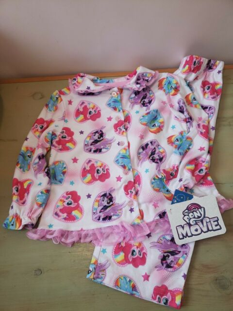 Toddlers Girls 2pc My Little Pony Footed Sleeper