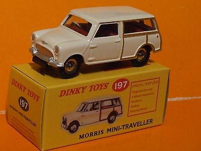 Auto Reissue Dinky Spielzeug Deagostini Mini Traveller Morris 97 Weiß
