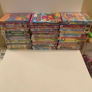 Assorted-Barney-the-dinosaur-DVDs