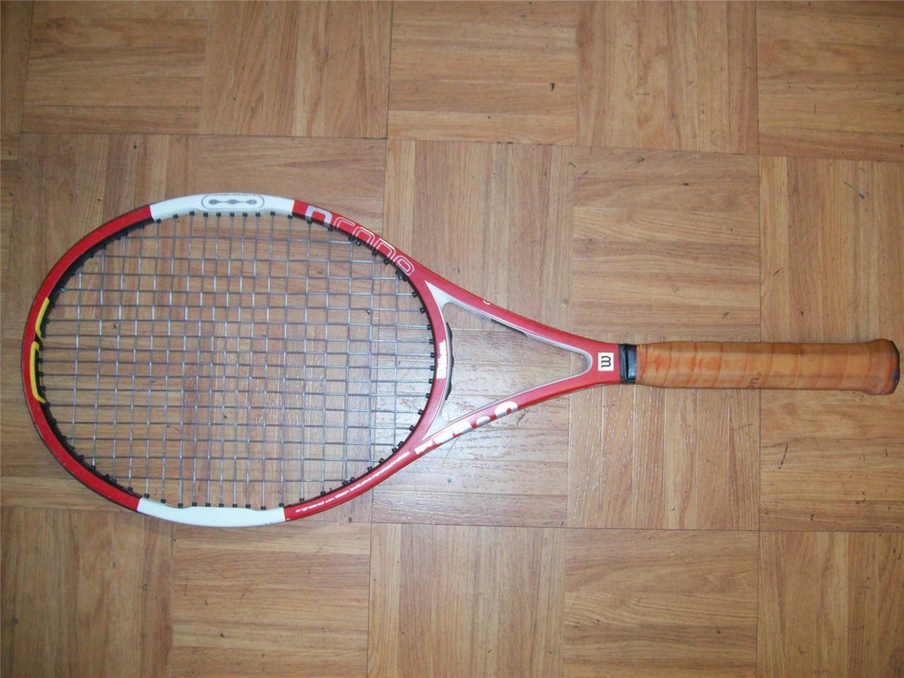 Wilson Ncode Six-One Tour 90 head Federer 4 5 8 grip  Tennis Racquet