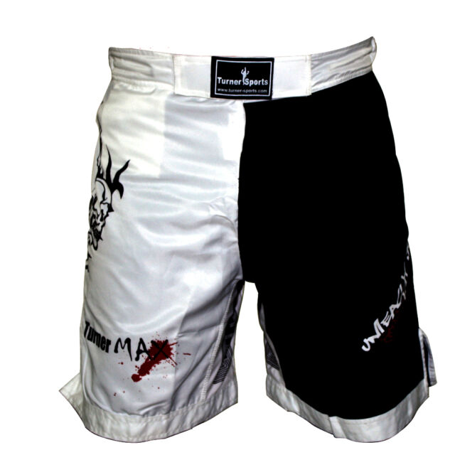 TurnerMAX MMA Shorts Grappling Cage Fight Muay Thai UFC kick Boxing Martial Arts