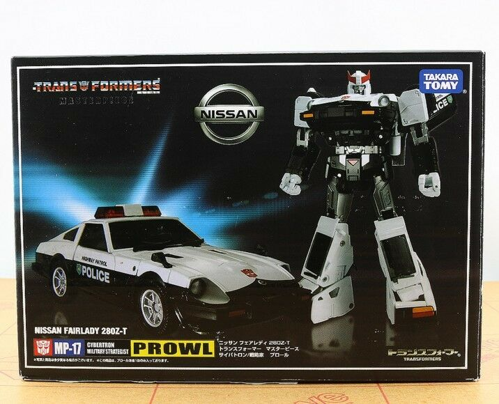 Transformers Masterpiece Masterpiece Masterpiece MP17 Autobots Prowl Action Figure Toy 5  New d2ae42