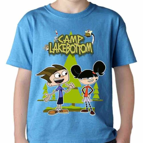 Camp Lakebottom t-shirt kid cartone animato k2 anche manica lunga t shirt ragazz