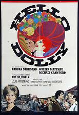 CINEMA-soggettone HELLO DOLLY barbara steisand,matthau,crawford,armstrong, KELLY