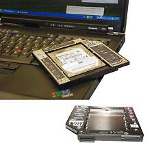 CADDY 2nd HDD LENOVO IBM THINKPAD T60 T61 Z60 Z61 RAHMEN FÜR 2. FESTPLATTE ORIGI