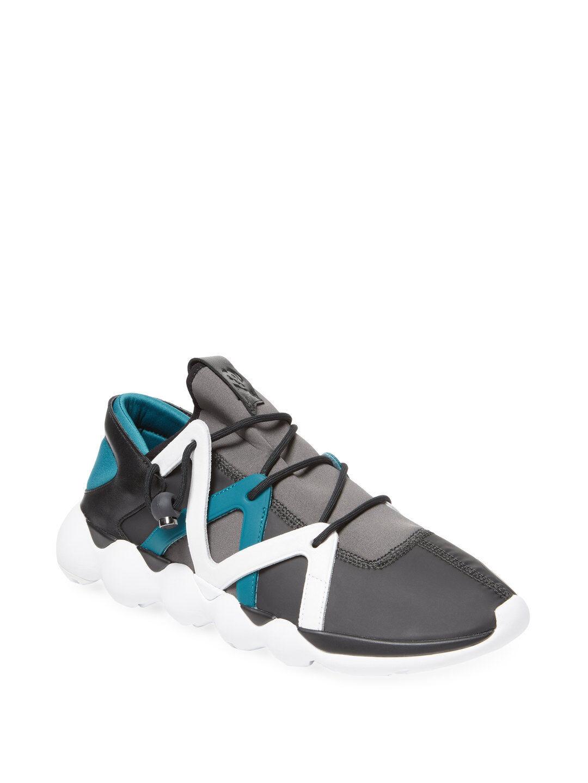 Adidas y-3 kyujo niedrigen top Turnschuhe, multi - farbe (bb4737) größe 12,5 uns