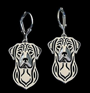 Labrador-Retriever-Dog-Earrings-Fashion-Jewellery-Silver-Plated-Leverback-Hook