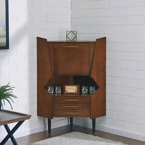 Details About Wrought Studio Hester Corner Bar Cabinet