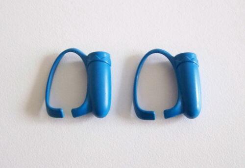 Lot de 2 Carquois Bleu Sans Flèche E136 INDIENS PLAYMOBIL