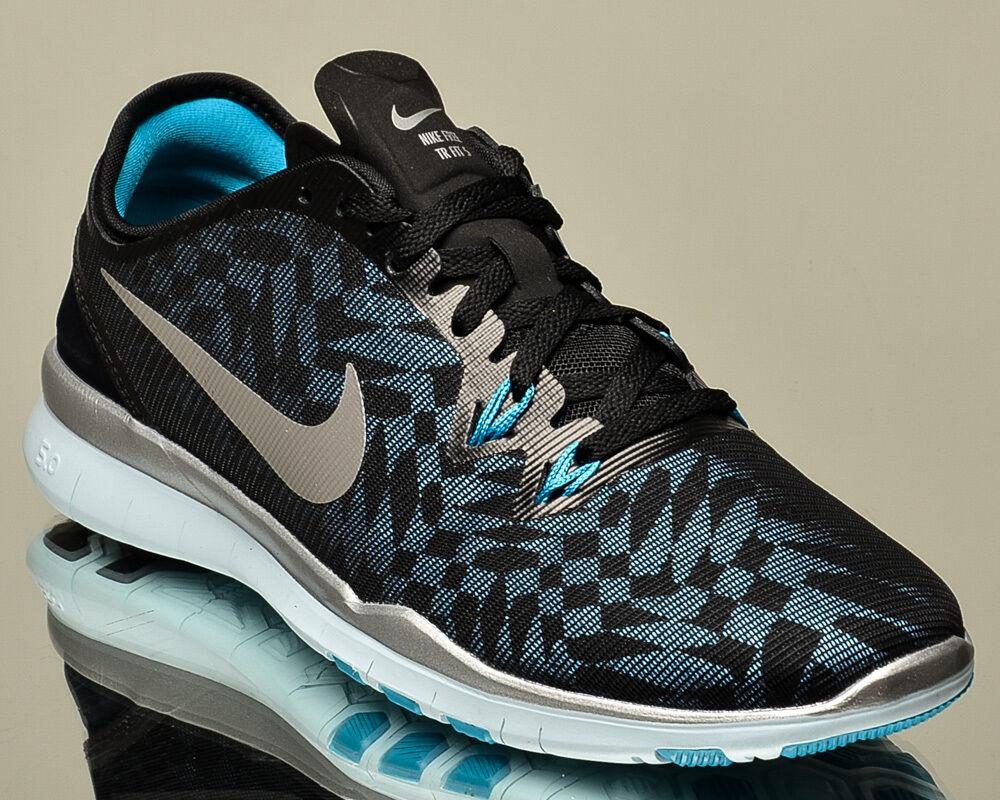Nike WMNS Free 5.0 TR Fit 5 Metallic Turnschuhe V Damenss train training Turnschuhe Metallic NEW schwarz 4834e7