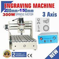 300w Cnc 2015t Router Engraver Engraving Drilling/milling Machine Desktop Router