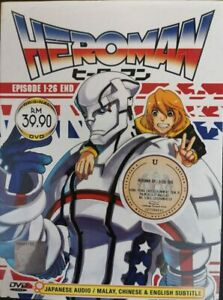 DVD-Anime-Heroman-Episode-1-26-End-English-Subtitle-TRACK-Shipping-All-Region
