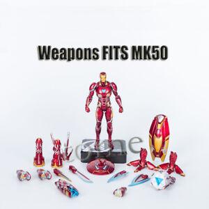 Complete-Set-Nano-Weapons-Fits-Avengers-Iron-Man-MK50-S-H-Figuart-Figure-Boxed