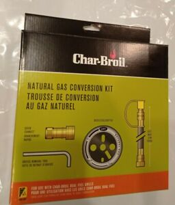 Char Broil Natural Gas Conversion Kit 4619 For Use With Dual Fuel Grills 47362846198 Ebay