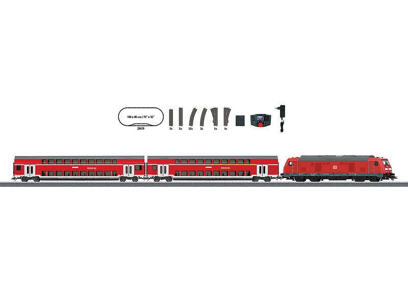 Märklin 29479 Digital Startset DIESEL BR 245 con 2 bastone doppio carrello DB AG h0