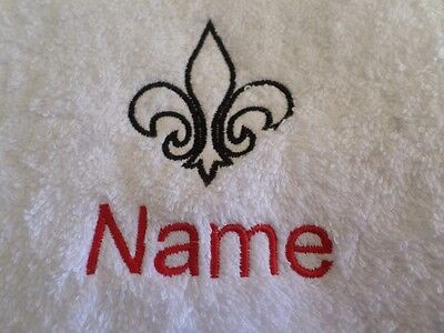 Hooded Towels Bath Robes with Personalised name KARATE Embroidered on Towels