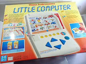 Texas Instruments Little Computer Retro Vintage Electronic Educational Toy Boxed