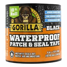 Gorilla Waterproof Patch Amp Seal Tape 4 X 10 Black Pack Of 1 1 Pack