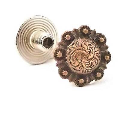 "Chicago Screws Antique Copper 1/4"" 10 Pack 3306-28 by Stecksstore"
