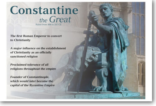 Constantine The Great NEW Classroom Social Studies Poster