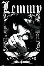 24x36 BORN TO LOSE LIVED TO WIN 3269 MOTORHEAD LEMMY TRIBUTE POSTER
