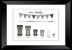 Welly Boots- Wall Art PRINT ONLY | eBay