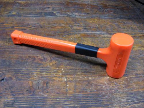 1 CASE of 18 - 1 LB Dead Blow Hammers - NEW  Heavy Duty Commercial Grade