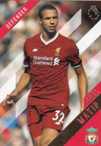 2017-18-Topps-Premier-League-or-Football-Cartes-a-Collectionner-69-Joel-Matip
