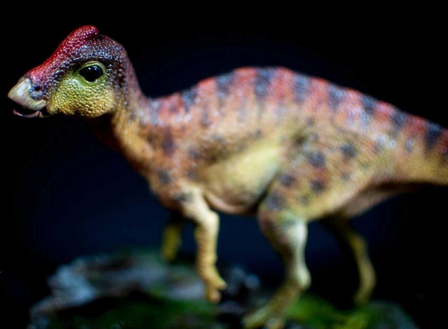 marcas de moda Parasaurolofus Bebé escena escena escena Estatua Figura Dinosaurio Modelo base coleccionista Decoración GK  distribución global