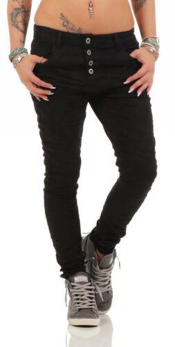 10372 salsiccia Jeans Da Donna Jeans a Sigaretta Pantaloni Boyfriend Style Jeans da donna