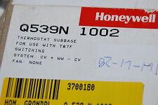 HONEYWELL Q539N 1002 THERMOSTAT HEIZUNGSTHERMOSTAT T87F FÜR CV + WW - CV NEU