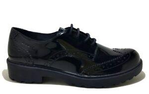 5e14a627391d6 Caricamento dell immagine in corso GEOX-CASEY-J6420N-BLACK-scarpe -bambina-ragazza-francesine-