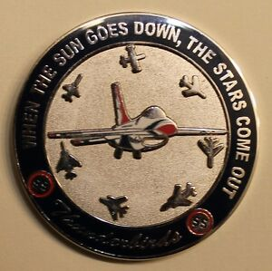 Details about Thunderbirds Air Force Demonstration Sq Aircraft Maintenance  Challenge Coin