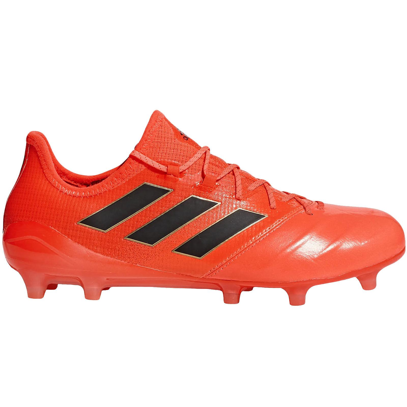 Adidas Perforhommece hommes Ace 17.1 pelle Firm chaussures da Calcio - Arancione