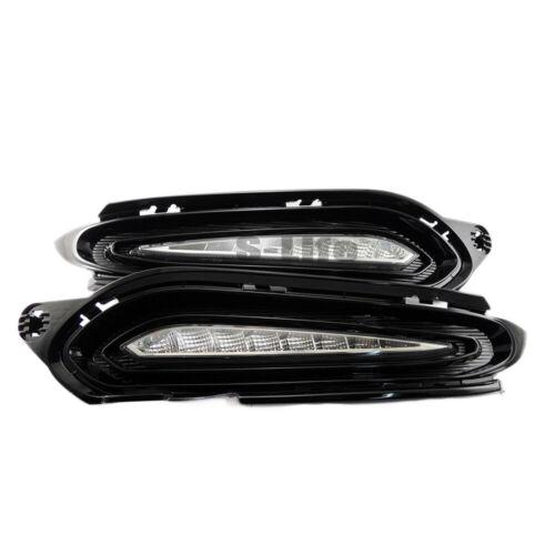 LED DRL Daytime Running Light Fog Lamp Turn Signal for Honda HRV Vezel 2015-18 D