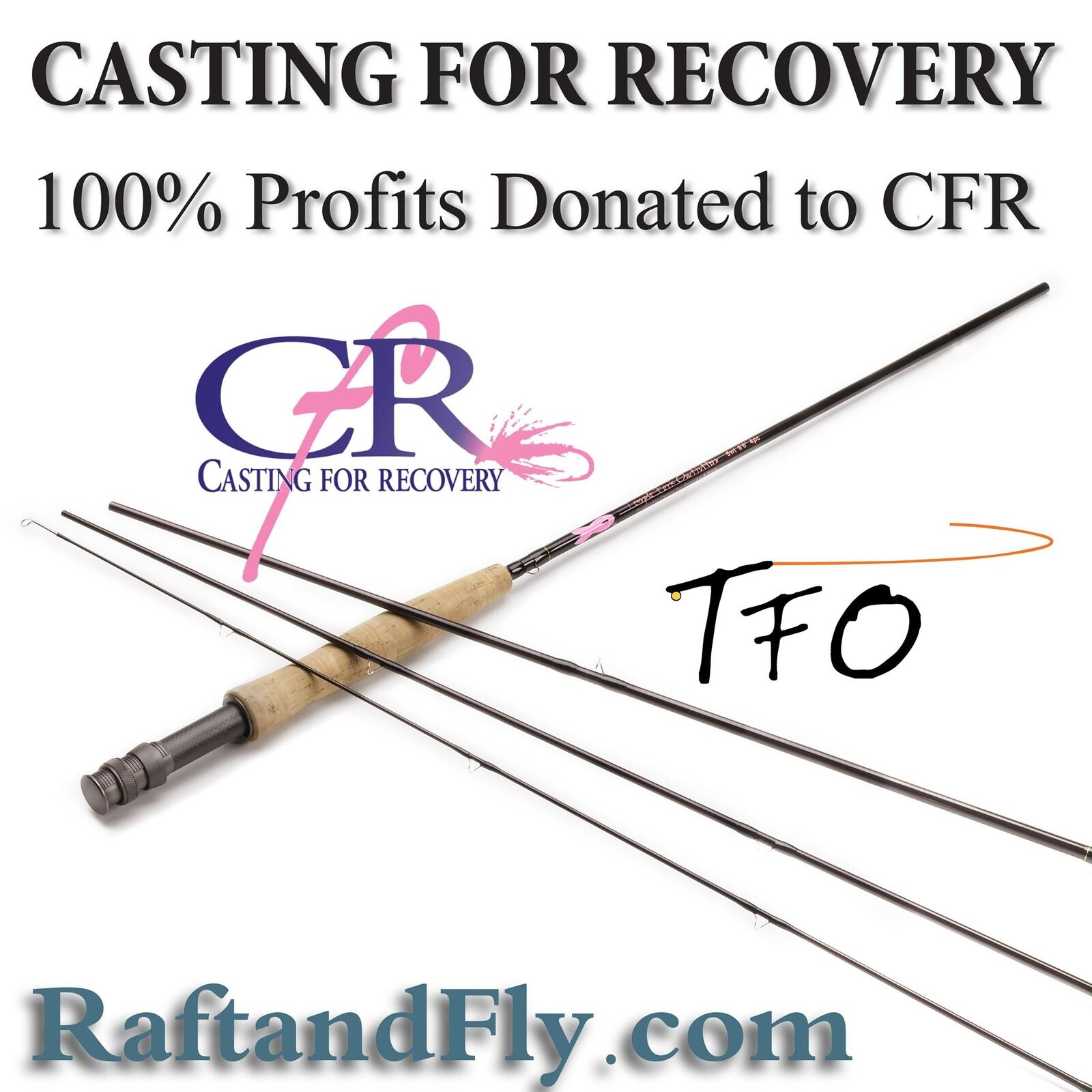 TFO Casting For Recovery 8wt - 100% proceeds to CFR