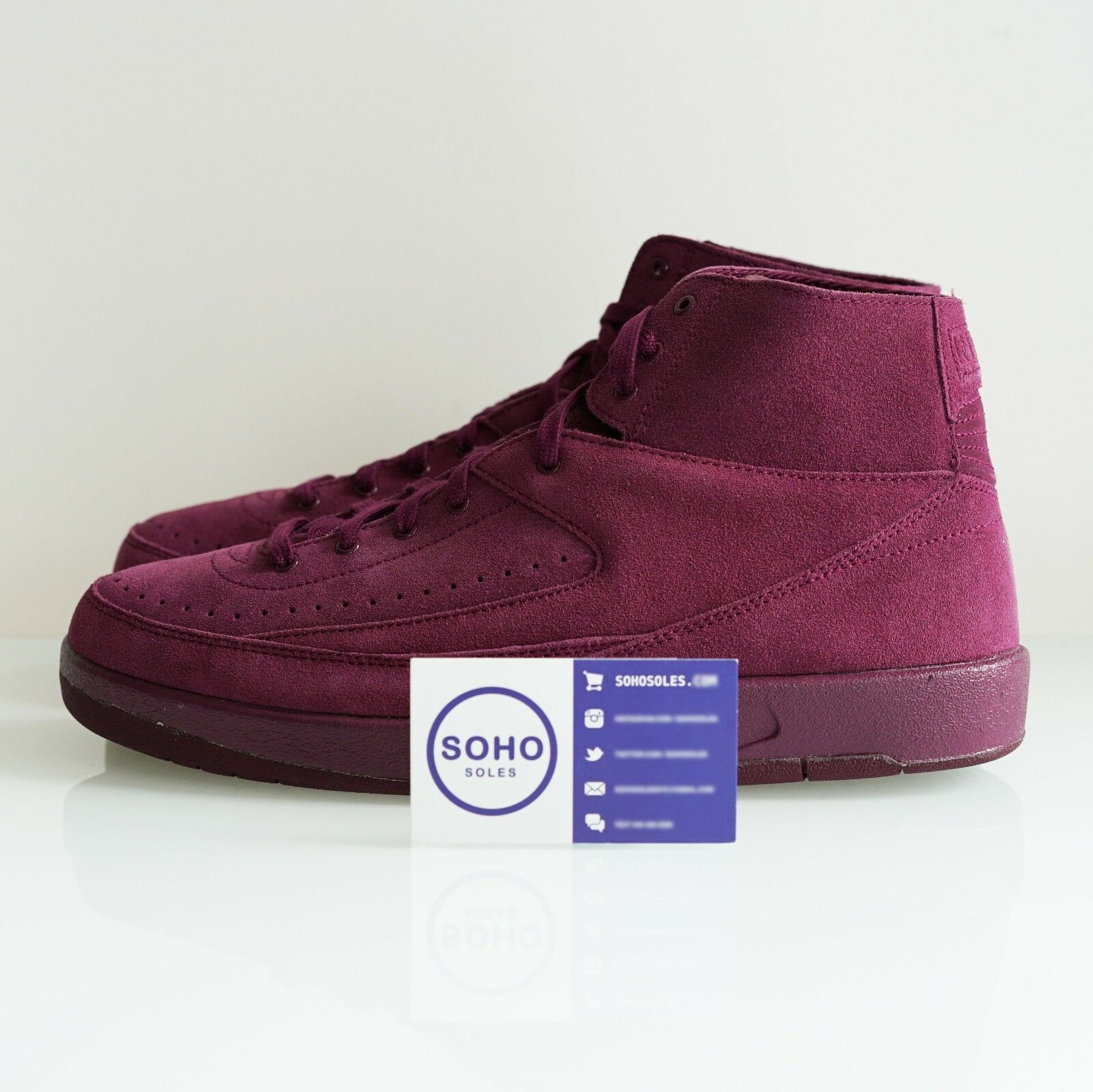 Nike Air Jordan 2 Retro Decon Bordeaux - Comfortable The latest discount shoes for men and women