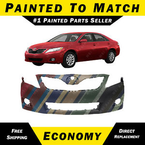 new painted to match front bumper cover for 2010 2011 toyota camry usa le xle ebay. Black Bedroom Furniture Sets. Home Design Ideas