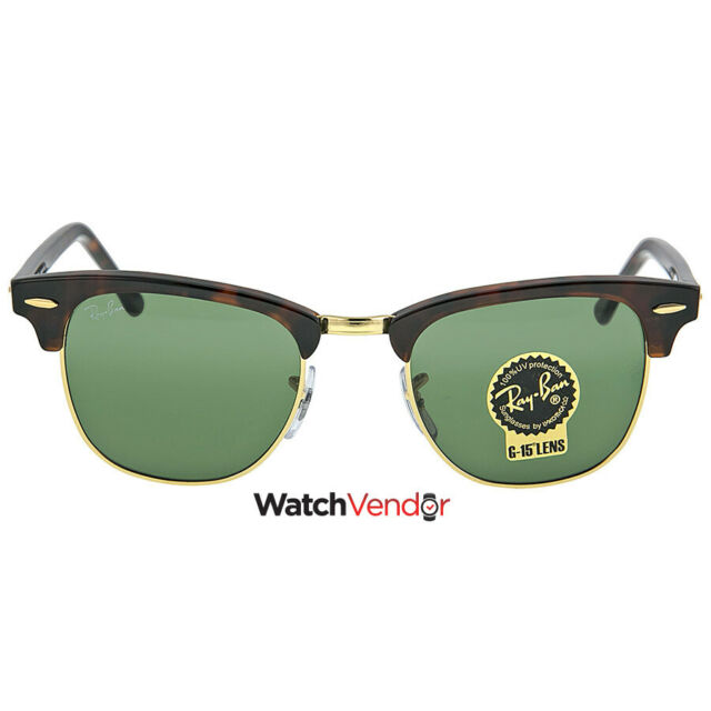 Ray Ban Clubmaster Tortoise 49 mm Sunglasses RB3016-W0366-49