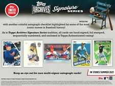 2021 Topps Archives Signature Series Retired Player Edition Baseball PRESELL