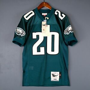 a67aea630 Image is loading 100-Authentic-Brian-Dawkins-Eagles-Mitchell-Ness-NFL-