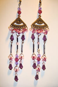 Large Long Indian~Asian Ethnic Boho Chandelier Earrings~PE1~uk ...
