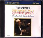 Günter WAND: BRUCKNER Symphony No.3 WDR Köln RCA CD Gunter Sinfonie