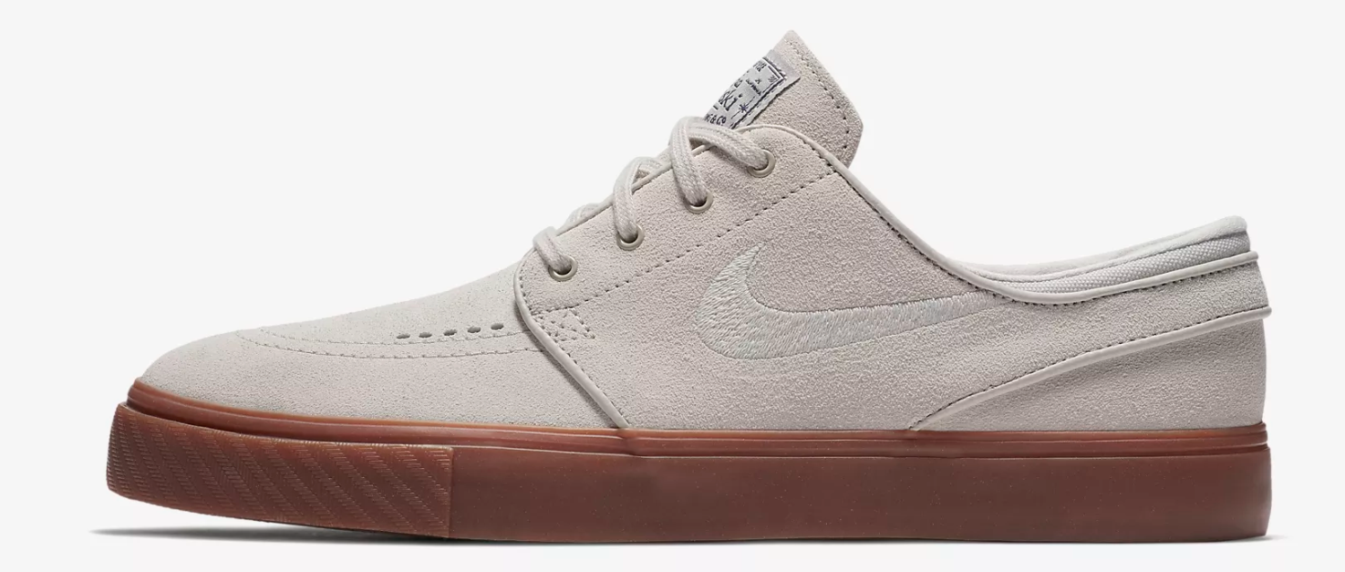 Nike Uomo Zoom Stefan Janoski  Uomo Nike Suede Light Bone Beige Schuhes Brand New Größe UK 11 1e8662