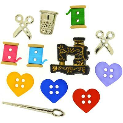 Jesse James Buttons ~ Dress It Up ~ FOR THE LOVE OF QUILTING 9062 ~ Sewing Craft