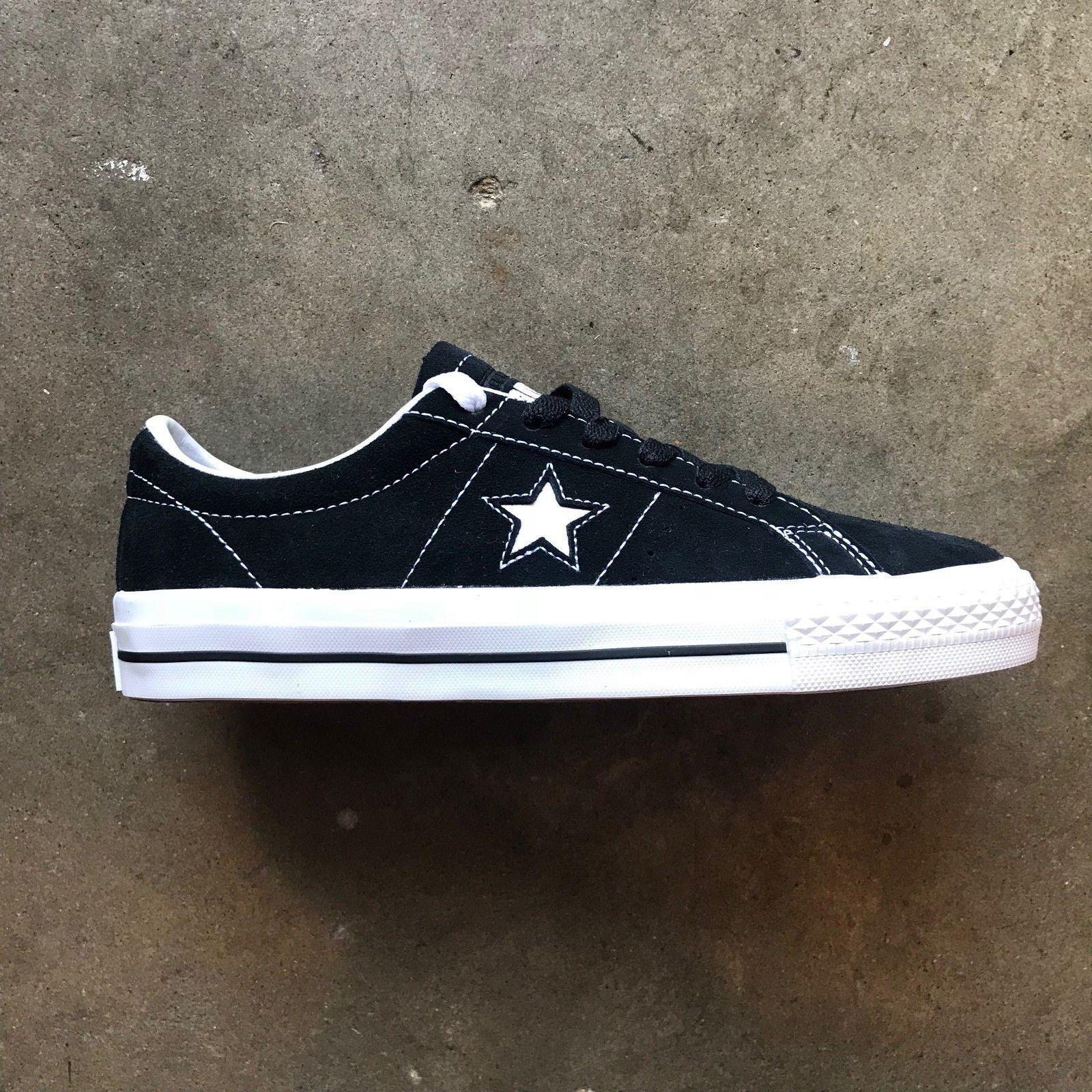 Converse One 612 Star Pro ante de buey (Negro/Blanco/Blanco) Tamaño: 612 One  Envío Rápido.. fff7c0