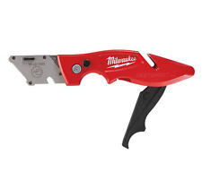 MILWAUKEE FASTBACK 2 Folding/Flip Trimming Work Knife/Slitter,No Blades,48221902