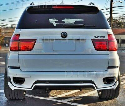 BMW X5 E70 LCI Heckansatz Diffusor Heckdiffusor Spoiler für Standard Stoßstange
