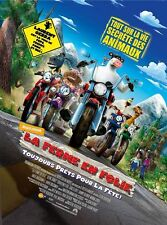 Affiche 40x60cm LA FERME EN FOLIE (BARNYARD) 2006 Steve Oedekerk animation NEUVE